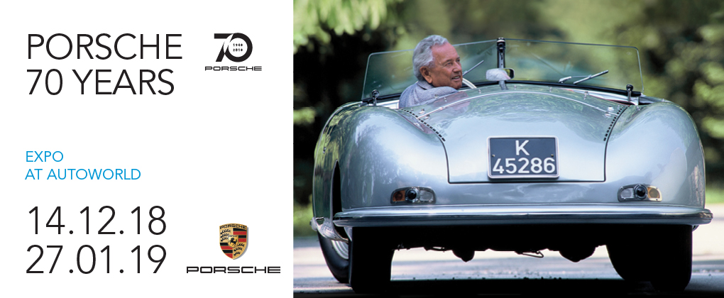 Autoworld + Exposition 'Porsche 70 Years'